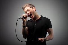Cantante immagini stock libere da diritti