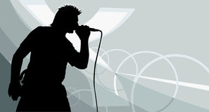 Cantante Immagini Stock