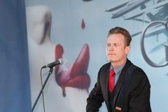 Cantante americano Jace Everett Foto de archivo libre de regalías