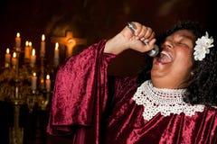 Cantante battista Fotografia Stock Libera da Diritti