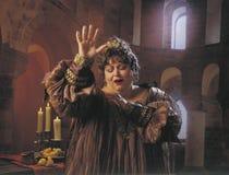 Cantante de la ópera Fotos de archivo