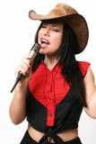 Cantante de la música country Imagen de archivo