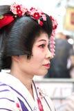 Cantante japonés Imagen de archivo libre de regalías