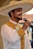 Cantante messicano Fotografia Stock Libera da Diritti