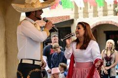 Cantante mexicano Foto de archivo libre de regalías