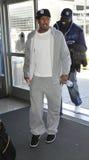 Cantante Nick Cannon all'aeroporto di LASSISMO fotografia stock libera da diritti