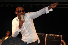 Cantante nigeriano 2Face Idibia Imagen de archivo
