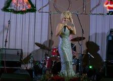 Cantante Valeria Fotos de archivo