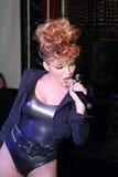 Cantante Ysa Ferrer. Concesiones Muz-TV Imágenes de archivo libres de regalías