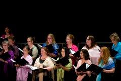 Cantantes Foto de archivo