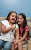 Cantantes II foto de archivo