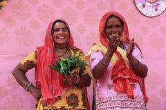 Cantantes populares indios Imagen de archivo libre de regalías