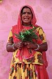 Cantantes populares indios Fotografía de archivo