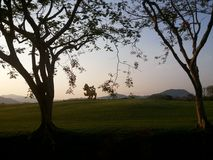 Cante el parque, Chiang Rai, Tailandia Imagen de archivo libre de regalías