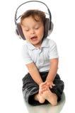 Cante o bebê. Fotografia de Stock