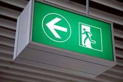Cante a placa no aeroporto 3 Foto de Stock