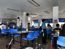 Canteen of ancient museums at Samut Prakan,thailand Stock Photography