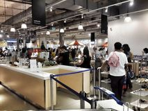 Canteen ikea thailand Royalty Free Stock Photography