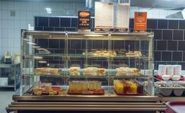 Canteen stock photo
