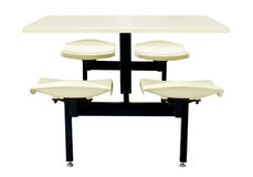 Canteen Table Set stock images