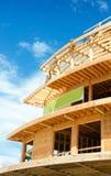 Canteiro de obras de madeira do quadro Fotos de Stock Royalty Free