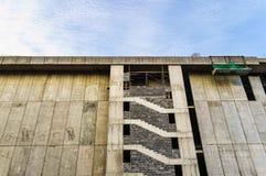Canteiro de obras do edifício Foto de Stock