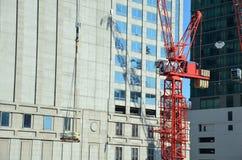 Canteiro de obras do negócio da construção da maquinaria Fotos de Stock Royalty Free