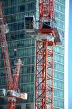 Canteiro de obras do negócio da construção da maquinaria Imagens de Stock Royalty Free