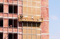 Canteiro de obras do prédio de escritórios. Imagem de Stock