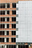 Canteiro de obras do prédio de escritórios. Fotografia de Stock Royalty Free