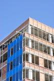 Canteiro de obras do prédio de escritórios Fotografia de Stock Royalty Free
