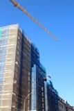Canteiro de obras do prédio de escritórios Fotografia de Stock