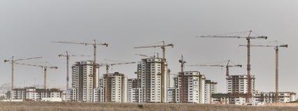 Canteiro de obras em Israel foto de stock royalty free