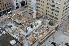 Canteiro de obras em Toronto, Canadá Fotos de Stock