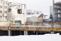 Canteiro de obras urbano Imagem de Stock Royalty Free