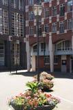 Canteiros de flores no Haque Fotografia de Stock