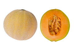 Cantelope (Cucumis melo) Royalty Free Stock Photography