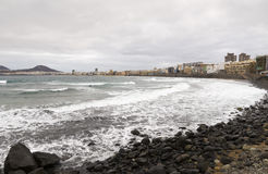 Canteras Beach Stock Photos