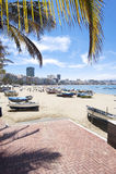 Canteras beach, Las Palmas de Gran Canaria, Spain Royalty Free Stock Image