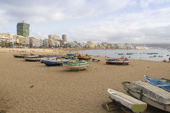 Canteras Beach Royalty Free Stock Image
