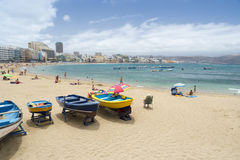 Canteras Beach Stock Photo
