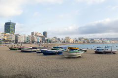 Canteras Beach Royalty Free Stock Photo