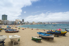 Canteras Beach Stock Images