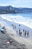 Canteras plaża w Granie Canaria Hiszpania Fotografia Stock