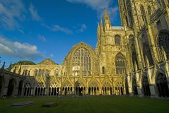собор canterbury Стоковое Фото