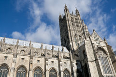 Canterbury Cathedra. The Cathedral of Canterbury in a sunny day Royalty Free Stock Image