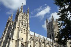 Canterbury Cathedral. Epic place of worship in the heart of Kent Royalty Free Stock Image