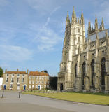CANTERBURY CATHEDRAL. A shot of Canterbury Cathedral in Kent, England Royalty Free Stock Photo