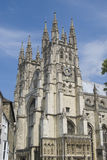 Canterbury Cathedral. The majestic Canterbury Cathedral in Canterbury England.  This beautiful cathedral is the seat of the Anglican Church Royalty Free Stock Photos