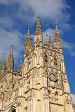 Canterbury Cathedral. Bell tower of Canterbury Cathedral, Canterbury, England stock image
